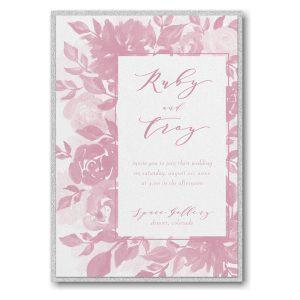 Botanical Elegance Layered Wedding Invitation Icon