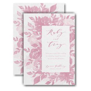 Botanical Elegance Wedding Invitation Icon