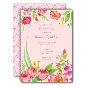 Bridal Blossoms Bridal Shower Invitation Icon