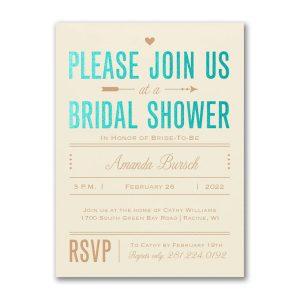Bridal Love Bridal Shower Invitation Icon