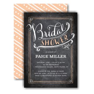 Bridal Shower Calligraphy Bridal Shower Invitation Icon