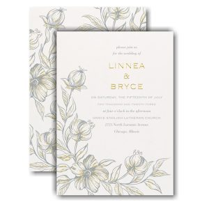 Burgeoning Love Wedding Invitation Icon
