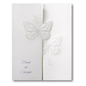 Butterfly Wishes Wedding Invitation Icon