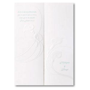 Calla Lily Delight Wedding Invitation Icon