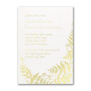 Charming Vines Wedding Invitation Icon