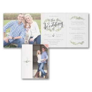 Cherished Moments All 'n One Wedding Invitation Icon