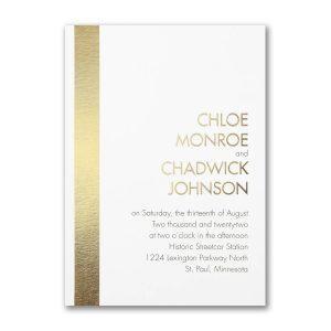 Chic Celebration Wedding Invitation Icon