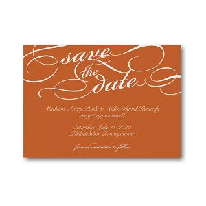 Contemporary Elegance Save the Date Magnet Icon