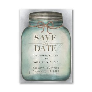 Country Style Save the Date Magnet Icon