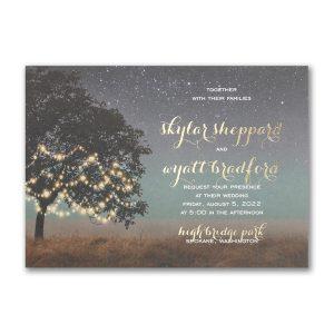 Countryside Romance Wedding Invitation Icon