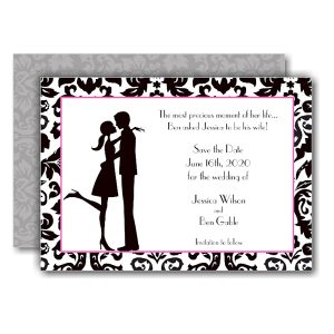 Couple in Love Save the Date Card Icon