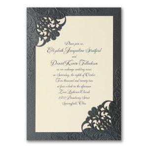 Dashing Elegance Wedding Invitation Icon