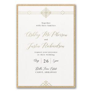 Deco Expressions Layered Wedding Invitation Icon