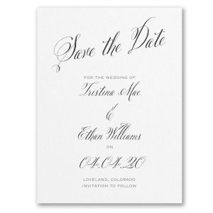 Delightful Date Save the Date Card Icon