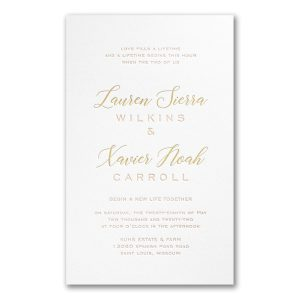 Deluxe Style in White Wedding Invitation Icon