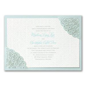 Desert Lace Wedding Invitation Icon