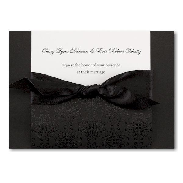Ebony Amour Wedding Invitation Icon
