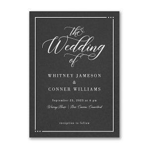 Edged Wedding Invitation Icon
