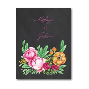 Elegant Bouquet Thank You Note