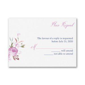 Enchanted Garden Pocket Response Card