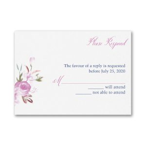 Enchanted Garden Response Card