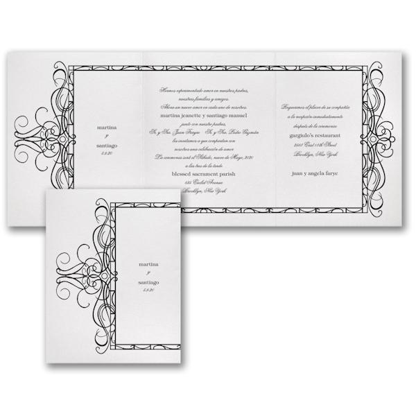 Endless Love Wedding Invitation