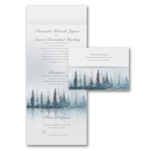 Ethereal Forest Seal 'n Send Wedding Invitation Icon