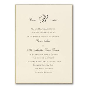 Exquisite Golden Border Wedding Invitation Icon