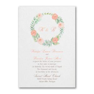 Fabulous Floral Wedding Invitation Icon