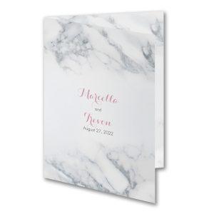 Fanciful Marble Wedding Invitation Icon