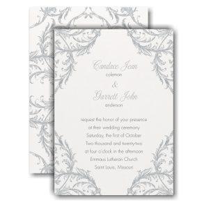 Fancy Flourish II Wedding Invitation Icon