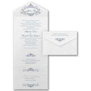 Filigree Inspiration Seal 'n Send Wedding Invitation Icon