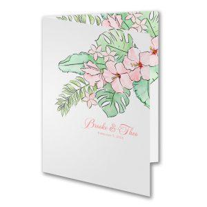 Floral Animation Wedding Invitation Icon