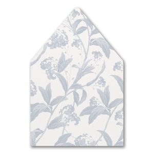 Floral Elegance Layered Envelope Liner