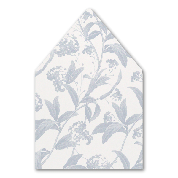Floral Elegance Layered Pocket Envelope Liner