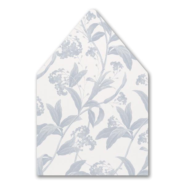 Floral Elegance Pocket Envelope Liner
