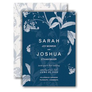 Floral Elegance Wedding Invitation Icon