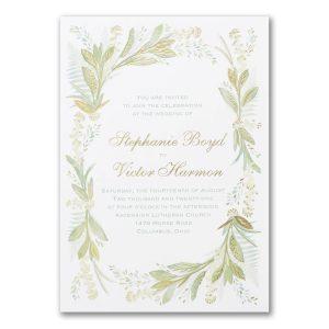 Floral Love Wedding Invitation Icon