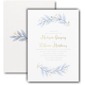 Floral Touch Wedding Invitation Icon