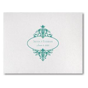 Florentine Crest Wedding Invitation Icon