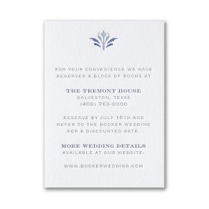 Flourish Inspiration in Bright White Reception Card