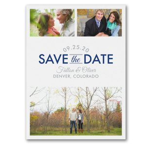 Focused on Forever Save the Date Card Icon