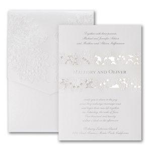 Forever Charming Pocket Wedding Invitation Icon
