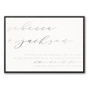 Forever Us Layered Wedding Invitation Icon