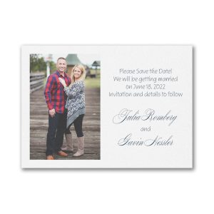Forever in Love Save the Date Magnet Icon