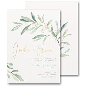 Fresh Daydream Wedding Invitation Icon