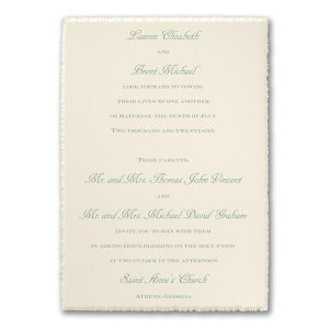 Garden Day Dreams Wedding Invitation Icon