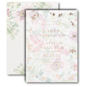 Garden Fresh Wedding Invitation Icon