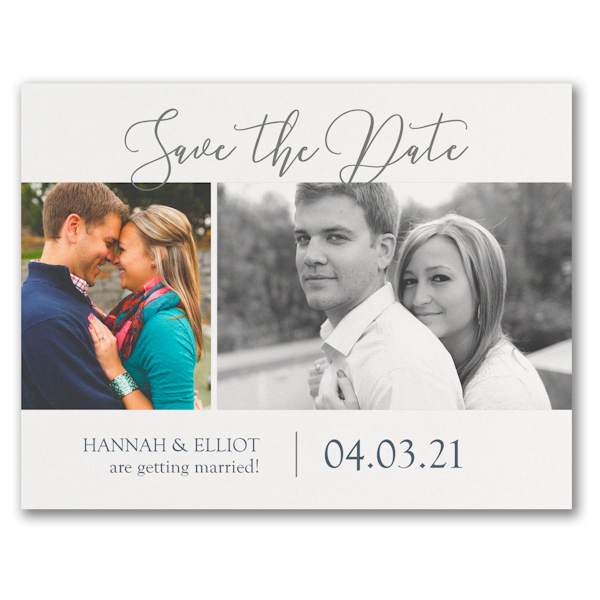 Getting Married Photo Save the Date Postcard