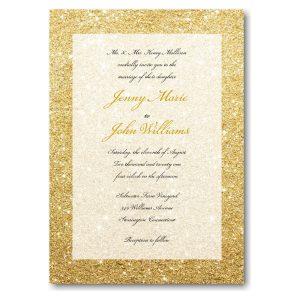 Glitter Ombre Wedding Invitation Icon